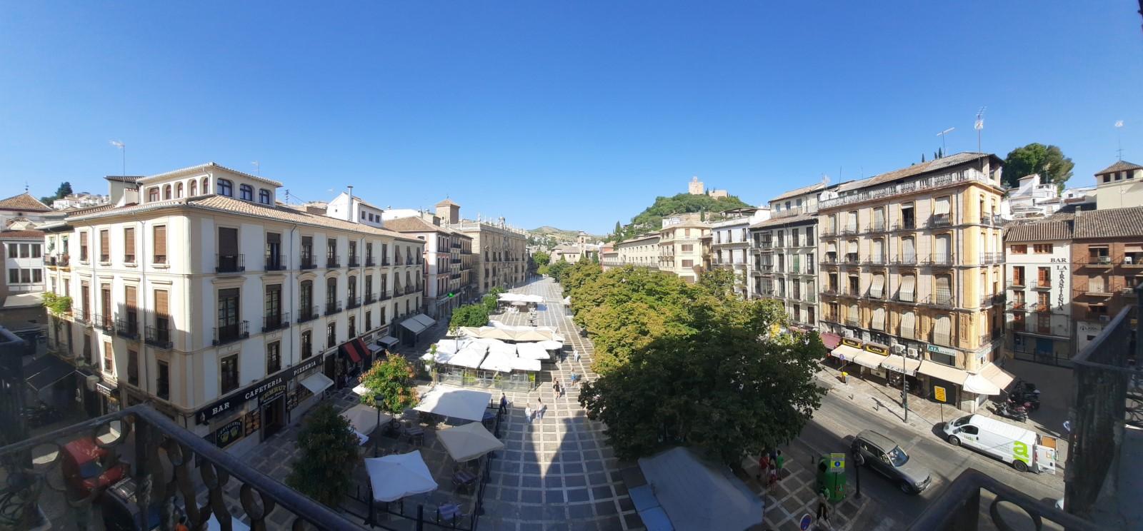 Plaza Nueva. Estudio con magníficas vistas